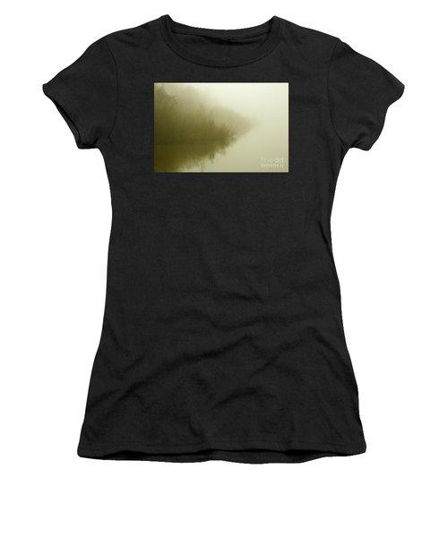 Misty Morning Reflection. Women's T-Shirt