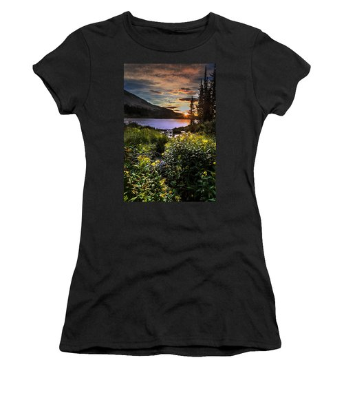 Mitchell Sunrise Women's T-Shirt (Junior Cut) by Steven Reed