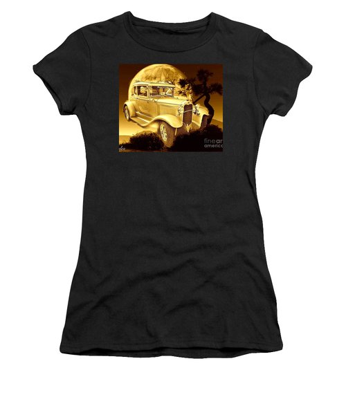 Model T Fantasy  Women's T-Shirt (Athletic Fit)