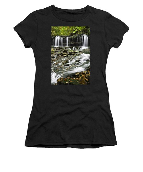 Mohawk Falls 2 Women's T-Shirt (Athletic Fit)