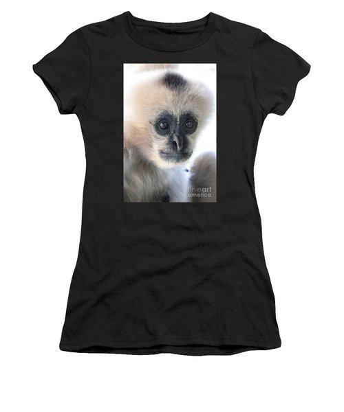 Monkey Face Women's T-Shirt (Athletic Fit)