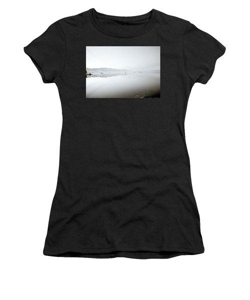 Mono Lake Serenity Women's T-Shirt (Junior Cut) by Shaun Higson