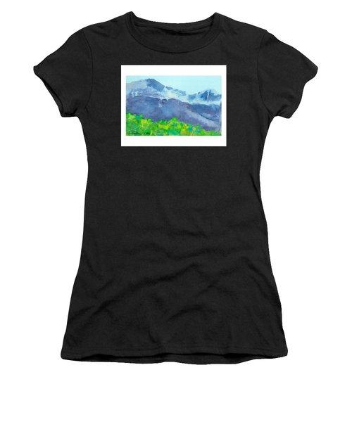 Montana Mountain Mist Women's T-Shirt