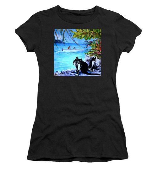 Montego Bay. Part One Women's T-Shirt (Athletic Fit)