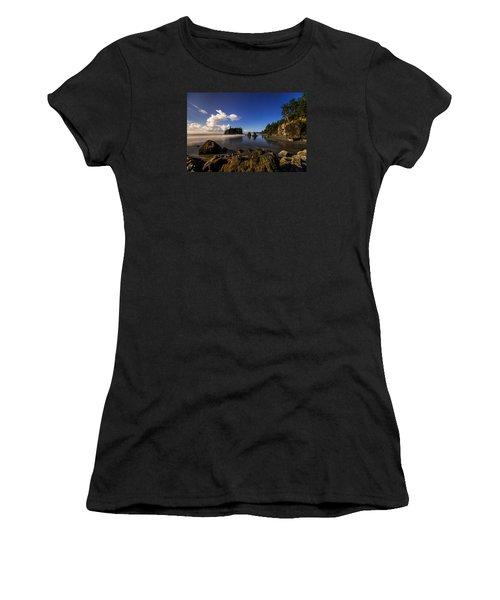 Moonlit Ruby Women's T-Shirt (Junior Cut) by Chad Dutson