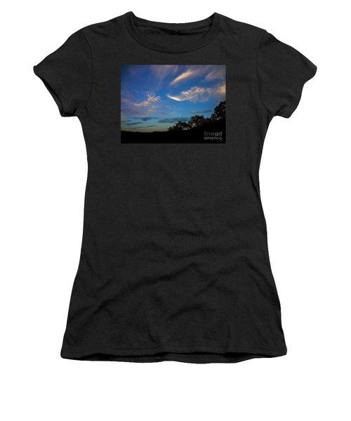 Moonrise Hill Women's T-Shirt (Athletic Fit)