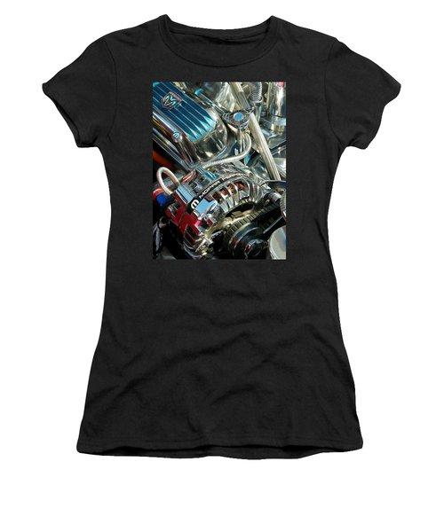 Mopar In Chrome Women's T-Shirt (Athletic Fit)