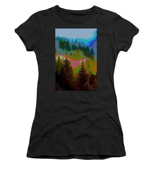 Morning Arrives In The Pacific Northwest Women's T-Shirt