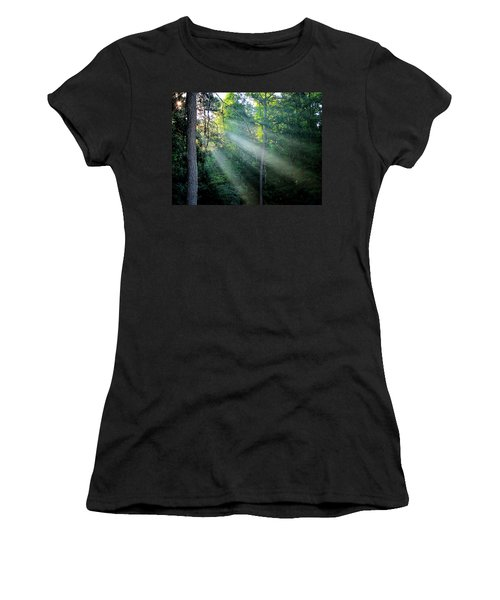 Morning Rays Women's T-Shirt (Athletic Fit)