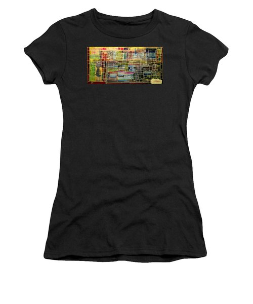 Mother Board Women's T-Shirt (Athletic Fit)