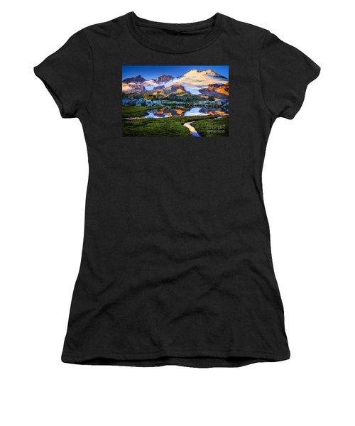 Mount Baker Reflection Women's T-Shirt
