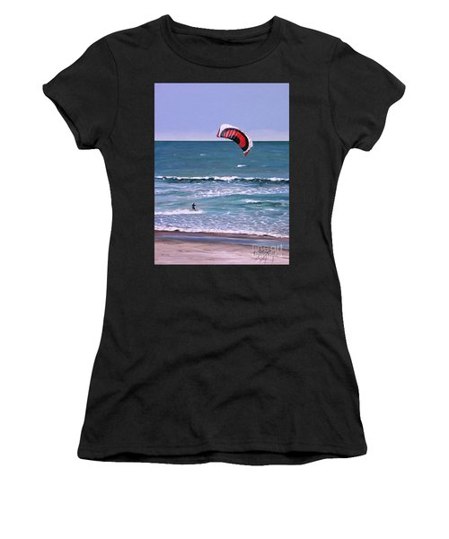 Mount Maunganui 160308 Women's T-Shirt (Athletic Fit)