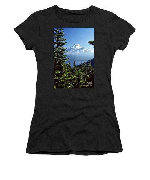 Mount St. Helens And Spirit Lake Women's T-Shirt