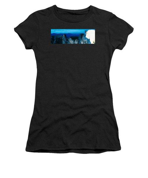 Mountain Goat Yukon Territory Canada Women's T-Shirt