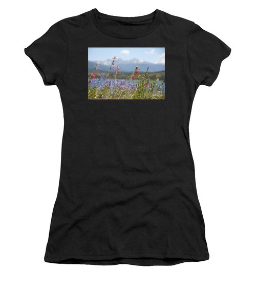 Mountain Wildflowers Women's T-Shirt