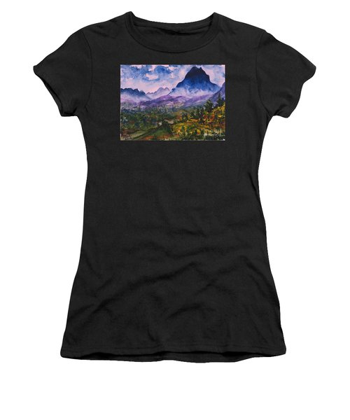Mountains Of Pyrenees  Women's T-Shirt