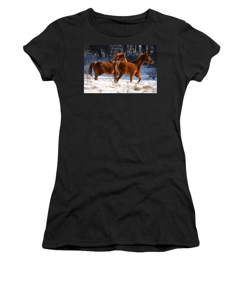 Moving In Motion 2 Women's T-Shirt (Athletic Fit)