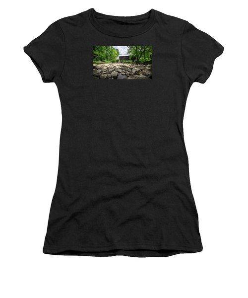 Moxley Covered Bridge Chelsea Vermont Women's T-Shirt