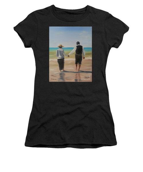 Mr. Carson And Mrs. Hughes Women's T-Shirt (Athletic Fit)