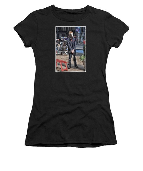 Women's T-Shirt (Junior Cut) featuring the photograph Mr. Ed by Mike Martin