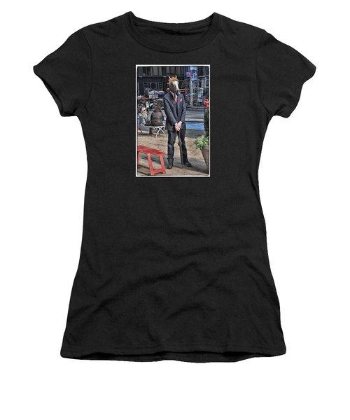 Mr. Ed Women's T-Shirt (Junior Cut) by Mike Martin