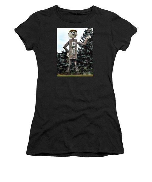 Mr. Pg Women's T-Shirt (Athletic Fit)