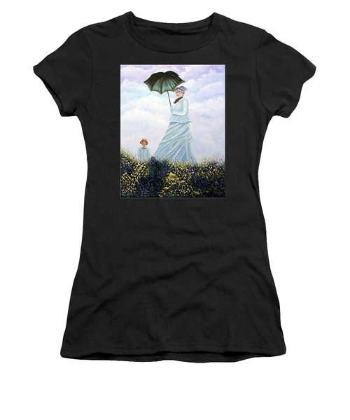 Mrs. Monet And Son Women's T-Shirt