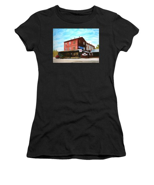 Mt. Pleasant Milling Company Women's T-Shirt (Athletic Fit)