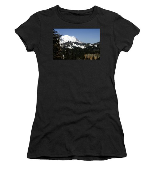 Mt Rainer From Wa-410 Women's T-Shirt (Athletic Fit)