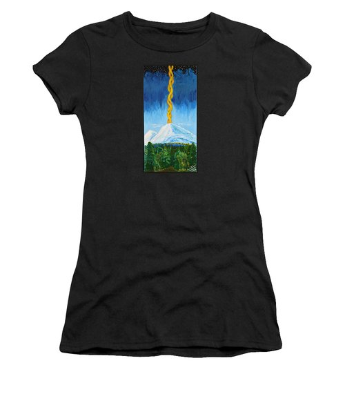 Mt. Shasta Women's T-Shirt (Athletic Fit)