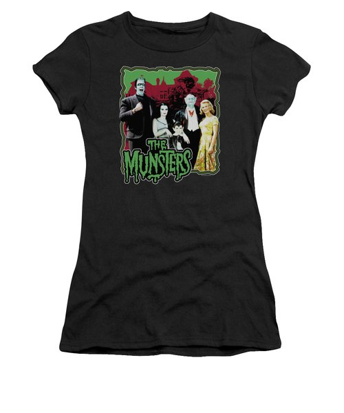 Munsters - Normal Family Women's T-Shirt (Athletic Fit)