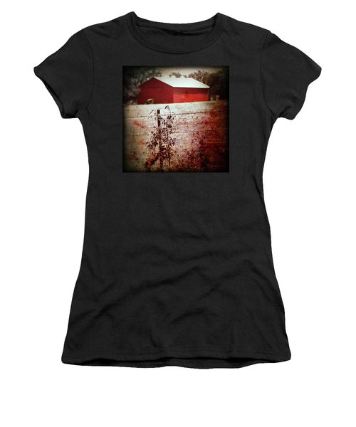 Murder In The Red Barn Women's T-Shirt