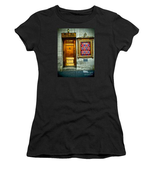 Music Box Stage Entrance Women's T-Shirt (Athletic Fit)