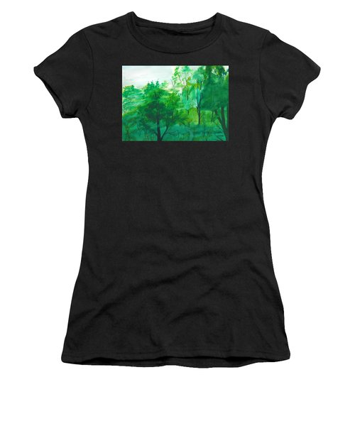 My Backyard Women's T-Shirt (Athletic Fit)
