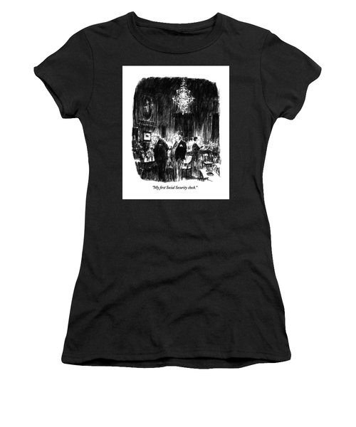 My First Social Security Check Women's T-Shirt