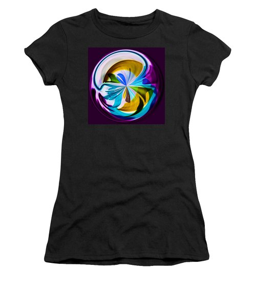 Women's T-Shirt (Junior Cut) featuring the photograph My World by Sonya Lang
