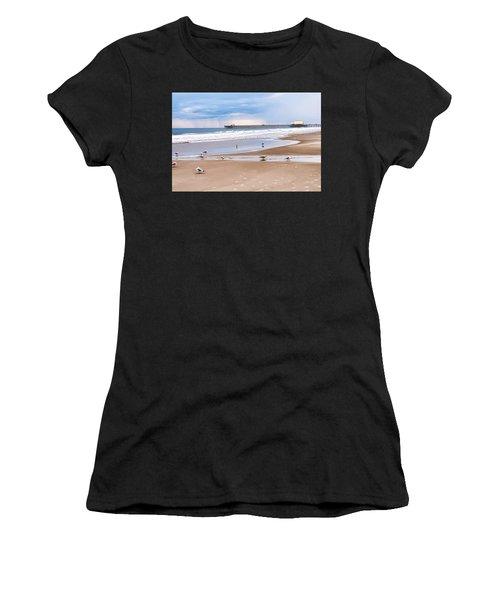 Myrtle Beach - Rainy Day Women's T-Shirt (Athletic Fit)
