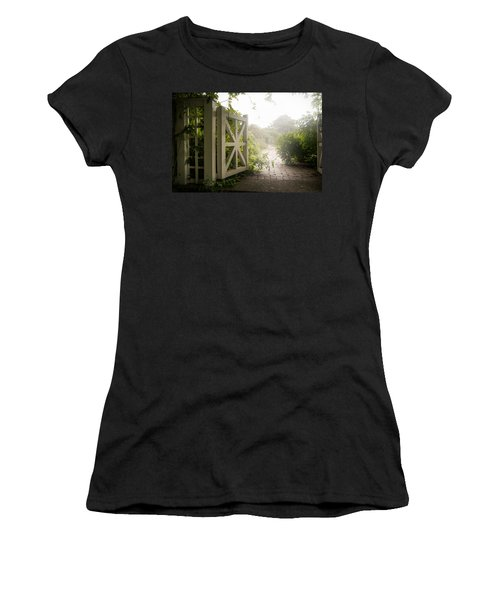 Mystic Garden - A Wonderful And Magical Place Women's T-Shirt (Athletic Fit)