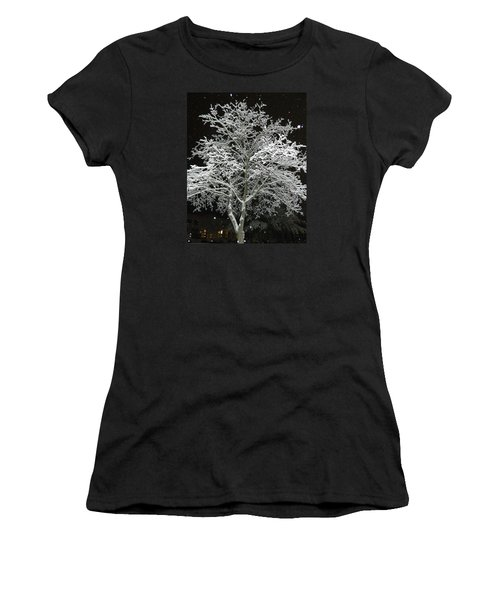 Mystical Winter Beauty Women's T-Shirt (Athletic Fit)