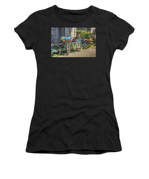 Nantucket Bikes Women's T-Shirt (Athletic Fit)
