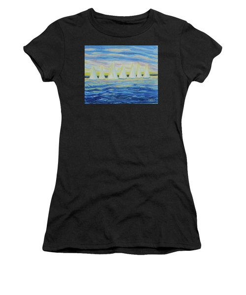 Nantucket Sunrise Women's T-Shirt (Athletic Fit)