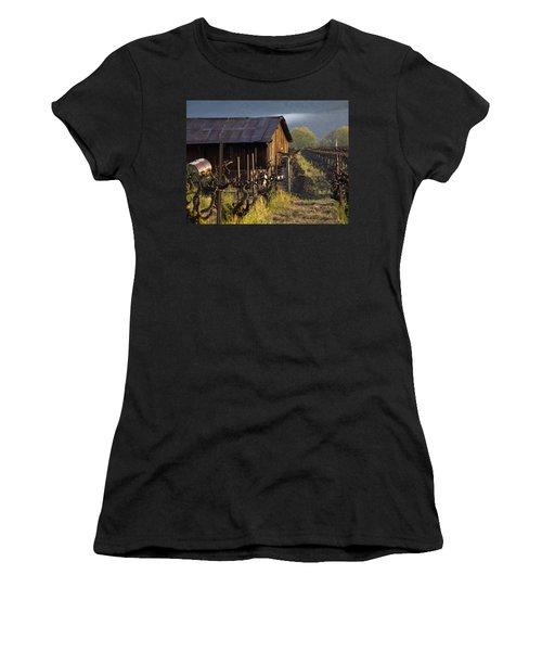 Napa Morning Women's T-Shirt (Junior Cut) by Bill Gallagher