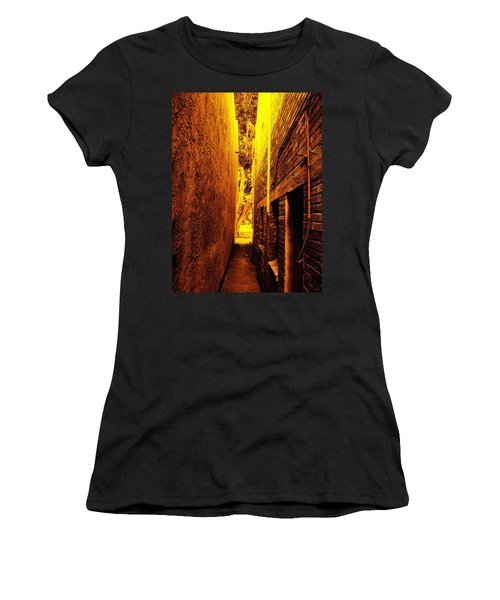 Narrow Way To The Light Women's T-Shirt (Athletic Fit)
