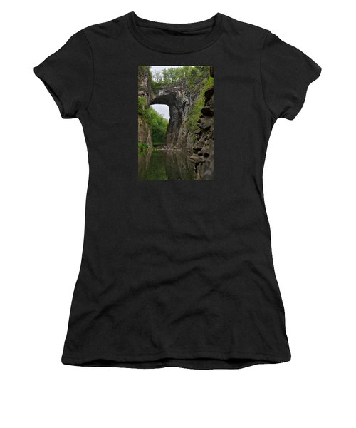 Natural Bridge Women's T-Shirt (Athletic Fit)