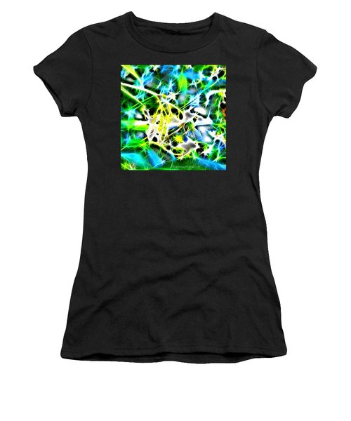 Nature Abstracted Women's T-Shirt (Junior Cut) by Anna Porter