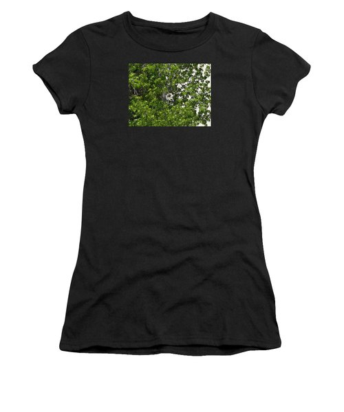 Nature's Art - Wellness Works Glendale - Face In The Tree  Women's T-Shirt