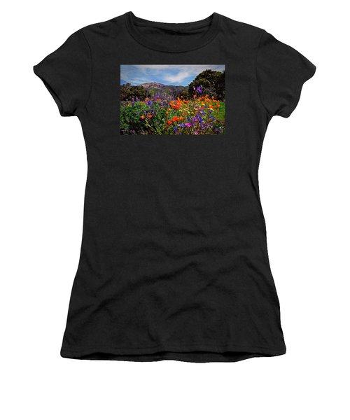 Nature's Bouquet  Women's T-Shirt (Junior Cut) by Lynn Bauer