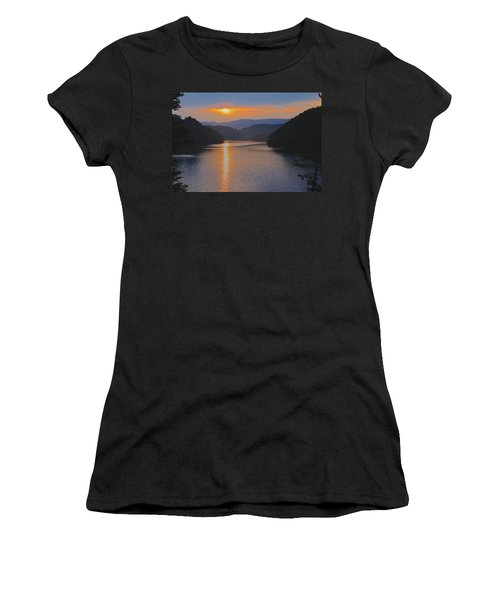 Natures Eyes Women's T-Shirt (Athletic Fit)