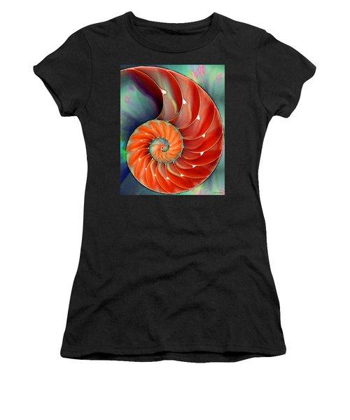 Nautilus Shell - Nature's Perfection Women's T-Shirt