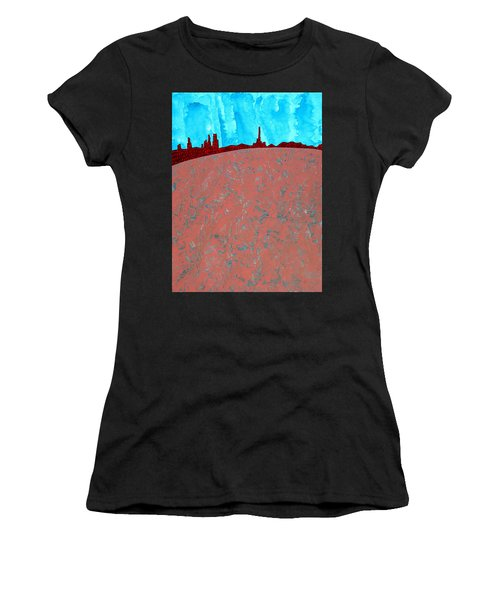 Needles And Dunes Original Painting Women's T-Shirt